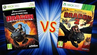 How to Train Your Dragon 1 + 2 Gameplay Xbox 360