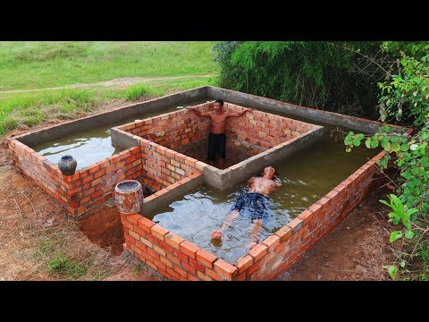 Build secret home under swimming pool past 1 youtube for Swimming pool 4 eckig