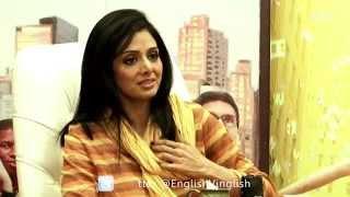 Sridevi speaks about English Vinglish