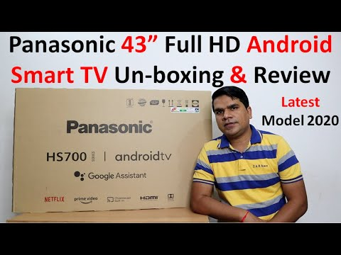 Panasonic 43 inch Smart TV unboxing and Review [TH-43HS700DX] ,Best 43 inch android TV 