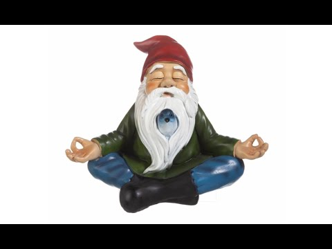 Zen Garden Gnome Statue Item#QM13097