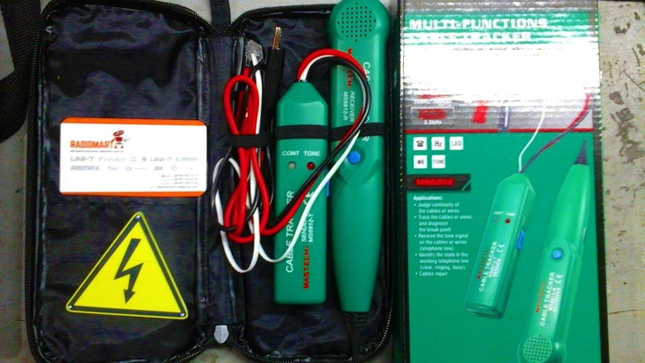 Распаковка MASTECH MS-6812 Cable Tracker