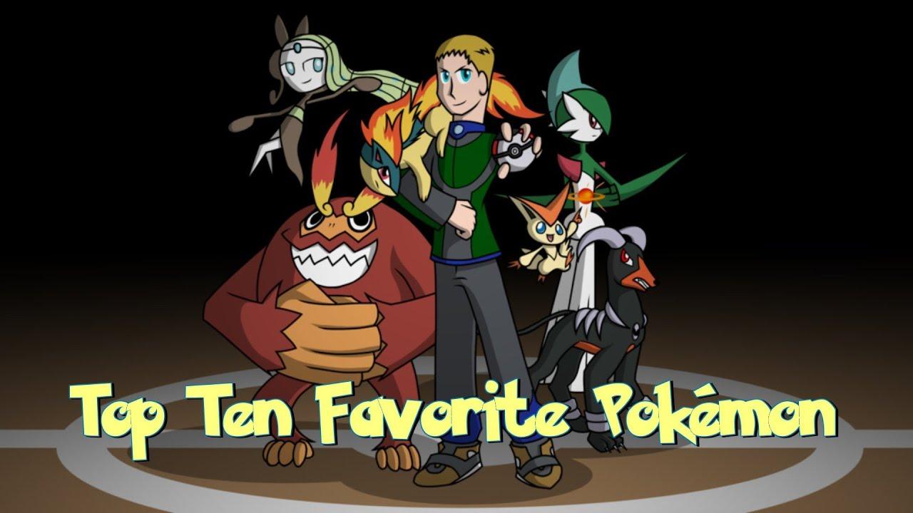 Top ten favorite pok mon youtube - Pokemon for john gba lite ...