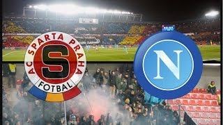 Sparta Prague - SSC Napoli 0:0, Europa League