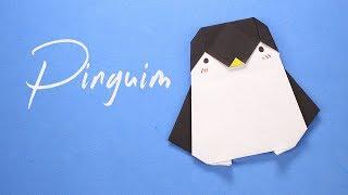 Como Fazer Um Pinguim De Papel