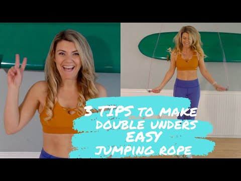 Learn How To Make Double Unders Easy Jumping Rope