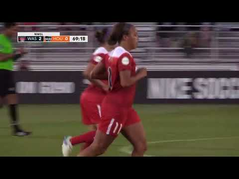 Mallory Pugh's First Professional Goal named 2017 Washington Spirit Goal of the Year
