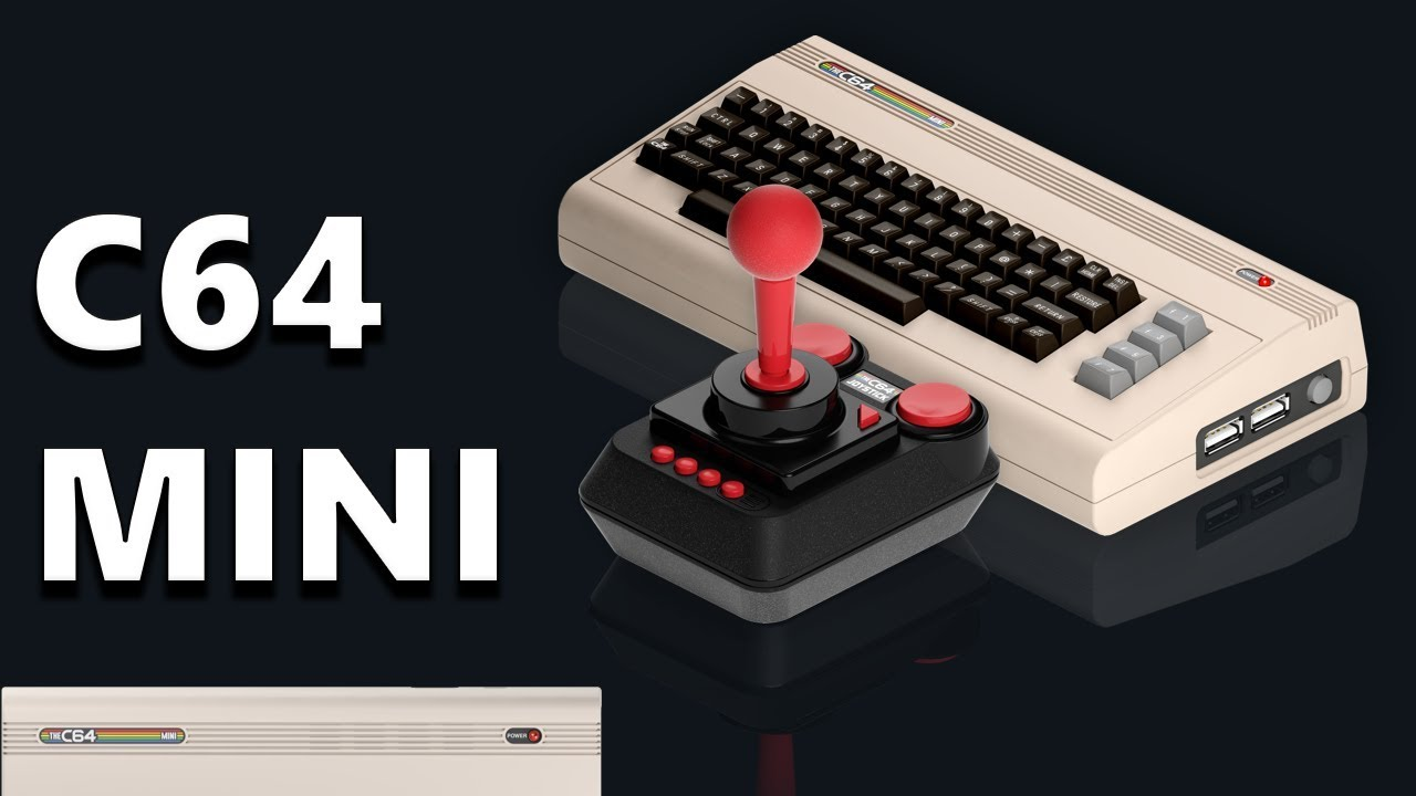 The C64 Mini - The Return of the Classic Commodore 64