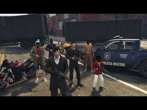 GTA 5 ROLEPLAY - O CRIME CORRE NA VEIA thumbnail
