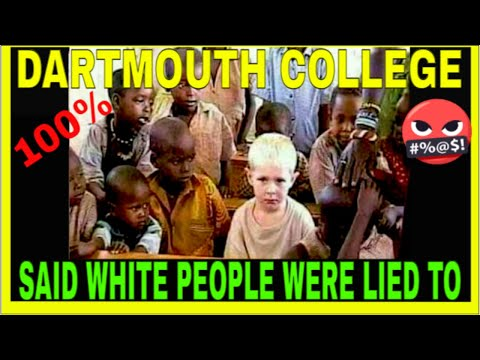 The PRESIDENT of DARTMOUTH COLLEGE SAID HEBREWS ARE BLACK! at PRINCETON UNIVERSITY SHOCKING FACTS!