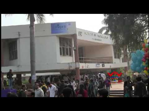 VTV - MAKING WORLD RECORD IN DHARAMSINH DESAI UNIVERSITY BY EYES DONATE COURAGE , NADIAD
