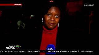 UPDATE: Zuma supporters held a night vigil in Albert Park