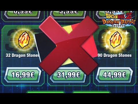 NEWS DOKKAN BATTLE FR : Achat de DS suspendu en Belgique / Super shenron