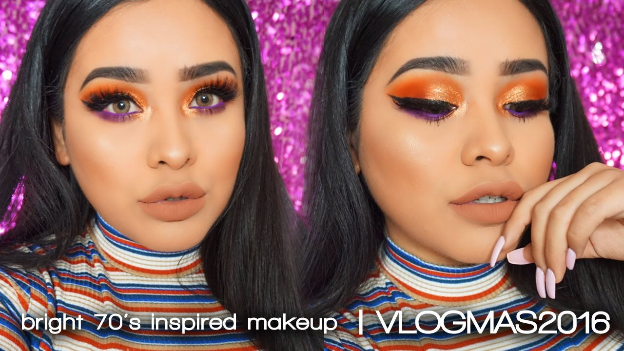 70s style makeup