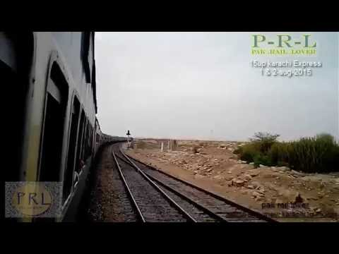 PAKISTAN RAILWAYS: 15UP KARACHI EXPRESS KARACHI TO MULTAN