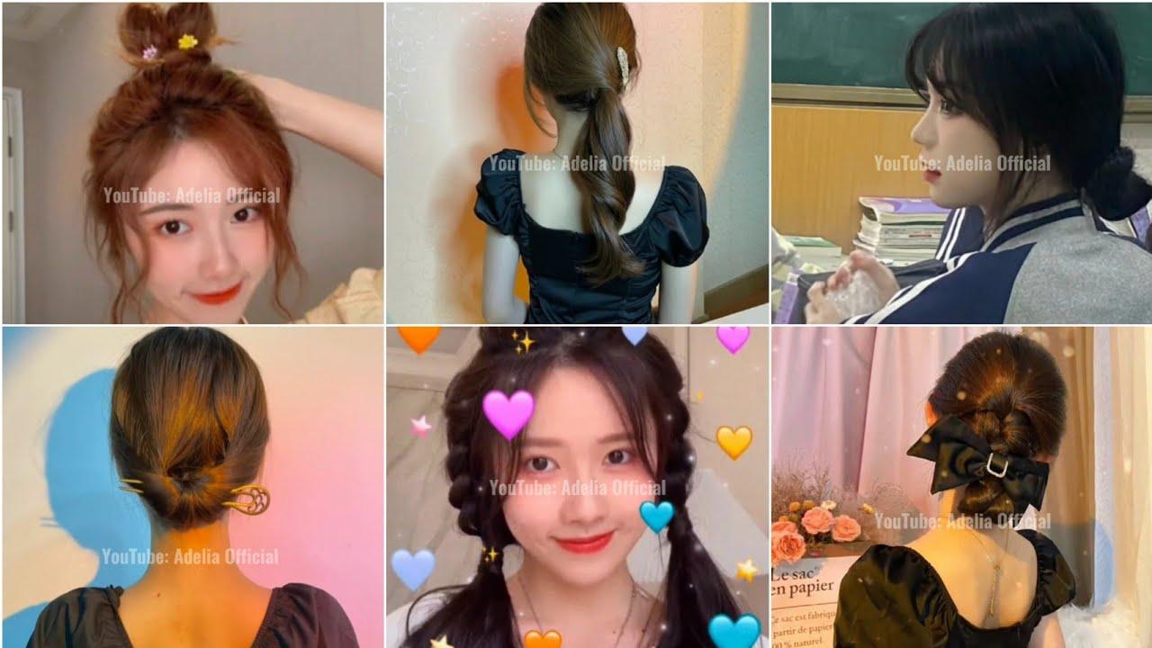 NHỮNG KIỂU TÓC XINH, CUTE, DỄ LÀM DÀNH CHO CÁC BẠN NỮ #3 | Tóm tắt những tài liệu về các kiểu tóc nữ dễ thương mới cập nhật