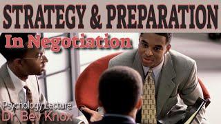 Negotiation Strategy & Preparation
