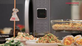 Presenting Morphy Richards 25 CG Microwave Oven