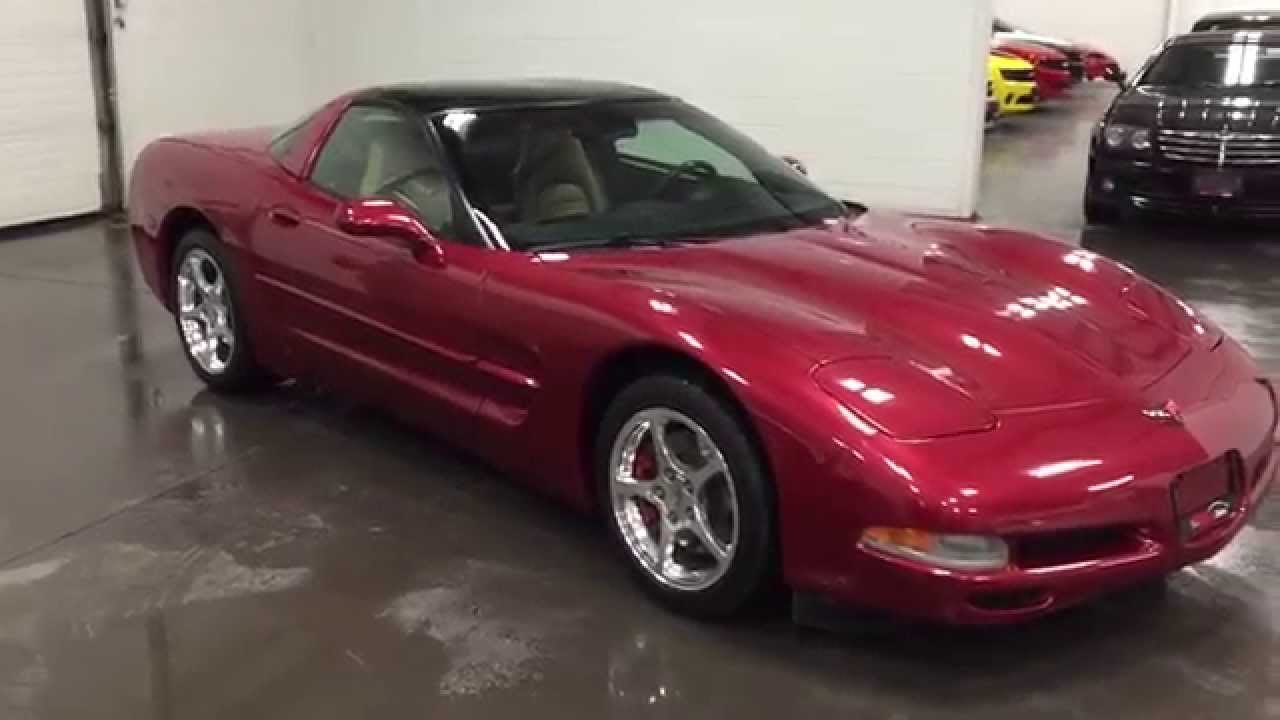 2001 Corvette Magnetic Red With Monster Audio Sold Munro