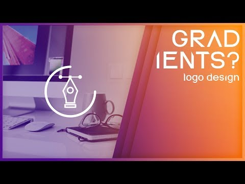 USING GRADIENTS ON LOGO DESIGNS?