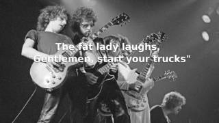 Blue Oyster Cult - Joan Crawford Lyrics Video