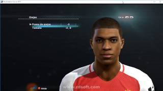 Kylian Mbappé PES 2013 face