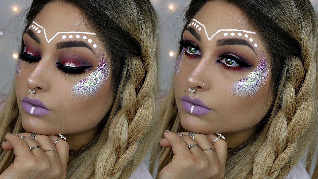 Music Festival Makeup | Beautybyjosiek