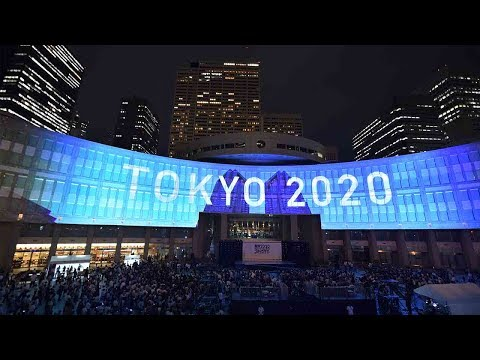 Japan marks 3-year countdown to 2020 Olympics