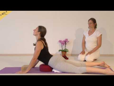 Yin Yoga Asanas mit Shanti Wade - Sphinx
