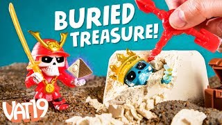 Treasure X: Dig to Find Buried Toys!