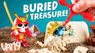 Скарб х: покопатися, щоб знайти похований іграшки!