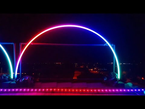 Building Leaping Pex Arches 2015 Youtube