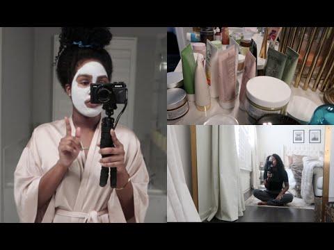 Organization Day, Skincare Clean-out, Mini Sephora Haul, & Wine Talk