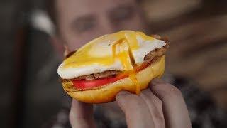 Идеальный бутер на завтрак!1!