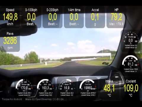 Autodrom Most Renault Laguna coupe initiale 3.0 dci