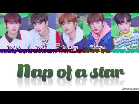 TXT - 'NAP OF A STAR' (별의 낮잠) Lyrics [Color Coded_Han_Rom_Eng]