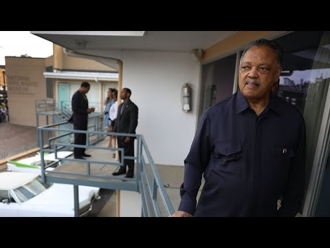 Jesse Jackson talks King's assassination