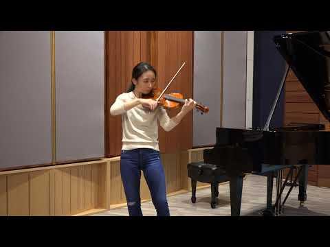 Ya-Chun Yang |Bach Siciliana From Unaccompanied Violin Sonata No.1 BWV1001