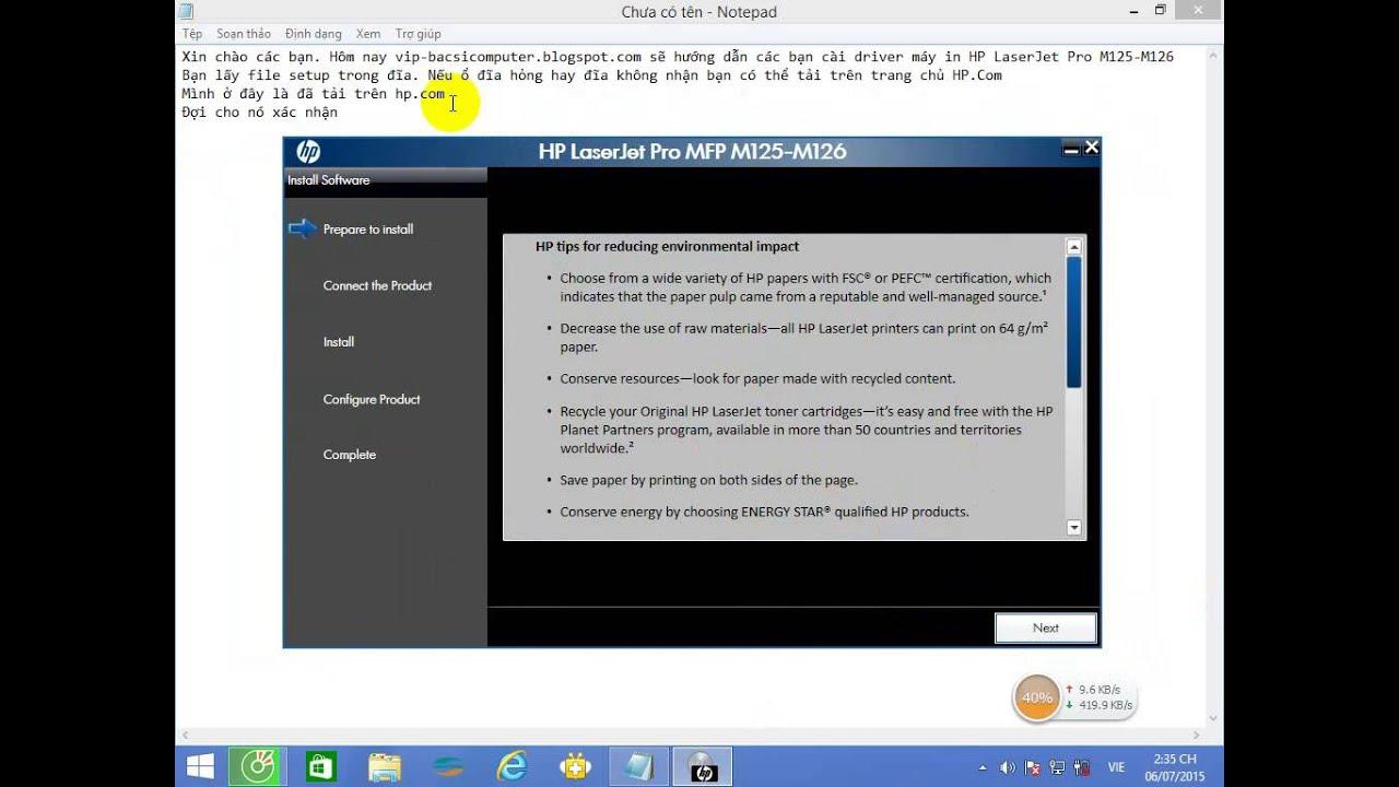 Hp Laserjet Pro Mfp M125a скачать драйвер бесплатно Windows 7 - фото 11