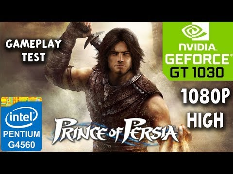Prince of Persia The Forgotten Sands - PC - GT 1030 - G4560 - 8GB RAM - 1080p High Benchmark Test  