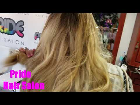Balayage at Pride Hair Salon Miami