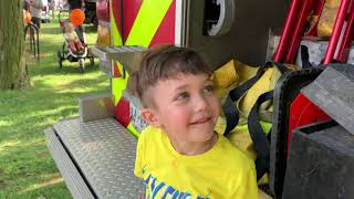 Fire EngineTour for kids - Fire Truck Videos for Children