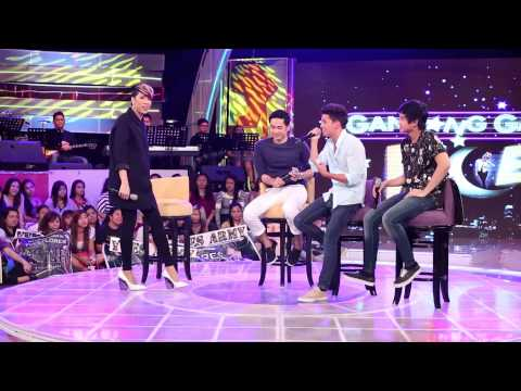 James Reid sings 'Nataranta' (Diary ng Panget Movie OST) on GGV