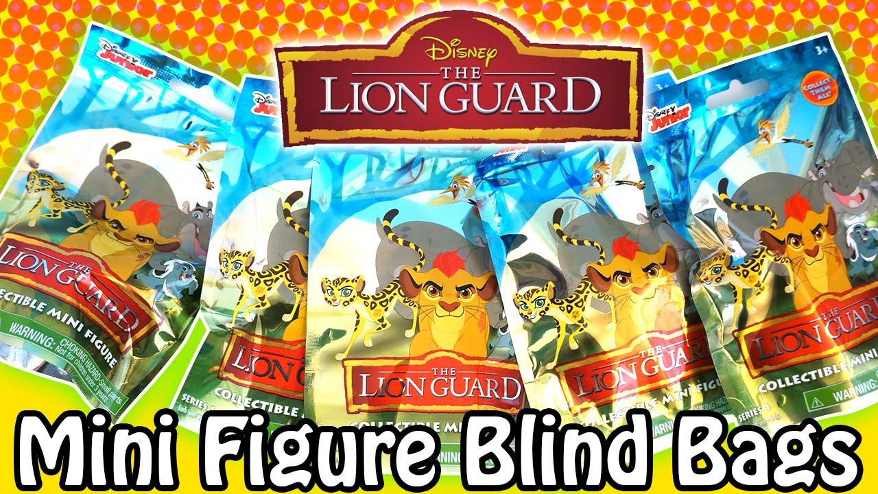 Disney Junior The Lion Guard Series1 Collectible Mini