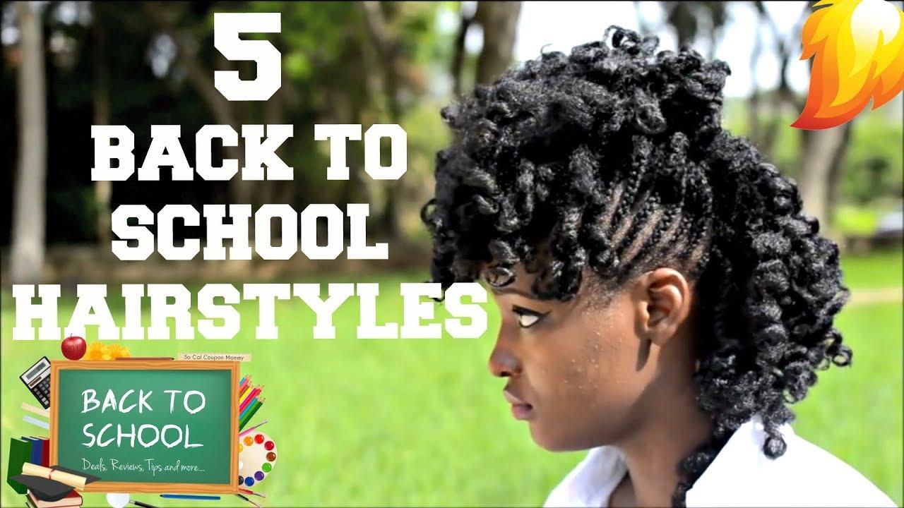 5 lit school hairstyles
