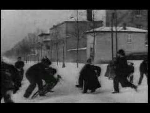 Bataille de Boules de Neige (Louis Lumière, 1896)