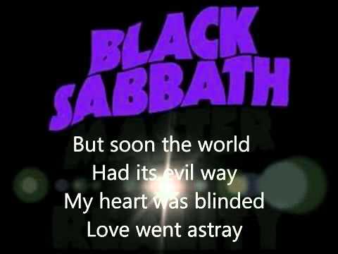 Black Sabbath Changes lyrics