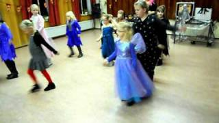 Halloween Country Border Dancers kidsgroup 2010 with the Lindi Shuffle