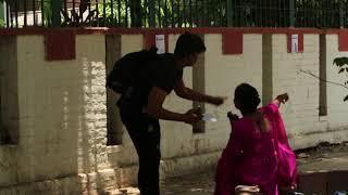 Acting Deaf and dumb prank - prank in India!