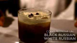 Como Preparar un Black Russian & White Russian : Los Cocteles Mas Populares